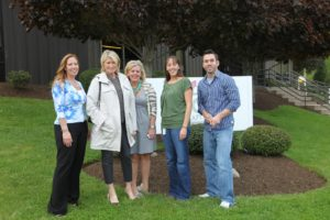 Here I am with Judy Baker, Melissa Palmer, Melanie Tennant, and Nick Jendrejeski