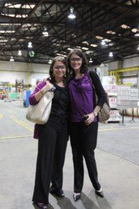 Katie Goldberg and Nicole Sutliff