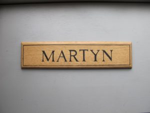 I love the Dutch spelling of Martyn.