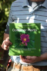 It's called Container Plants by Byron Martin and Laurelyn Martin of Logee's Greenhouses.  www.logees.com/