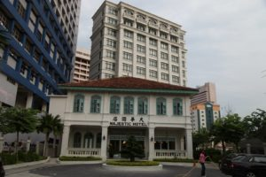 Our visit ended with a stop at the recently restored Majestic Hotel.  http://www.majesticmalacca.com/