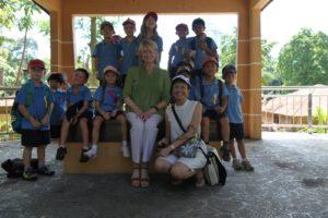 The children were so excited about their fieldtrip!