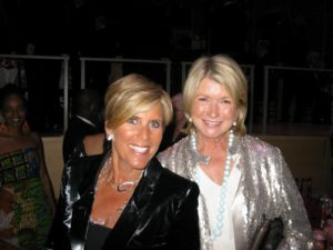 Suze Orman - financial advisor, author, and motivational speaker