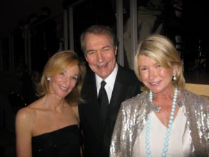 Amanda Burden and Charlie Rose