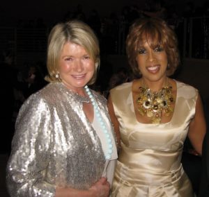Here I am with Gayle King.