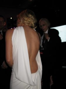 The back of Tracy Anderson - Madonna's personal trainer