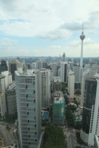 And the other with the Kuala Lumpur Tower
