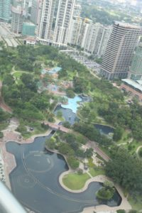 Imagine, a beatifully designed and very green water park right in downtown Kuala Lumpur!