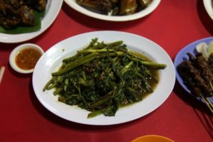 Wonderful stir-fried Chinese broccoli