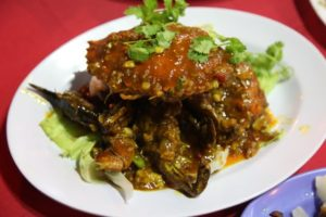 Malaysia is famous for it's crab dishes - we enjoyed this one.