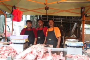 Charming butchers