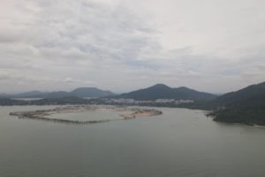Here is Lumut and the Royal Malaysia Navy navy base.