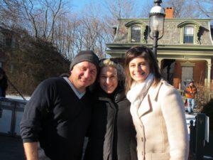 Jim Gardner - stylist, Patsy Pollack and Jodi Gruber - part of the wonderful MSLO merchandising team