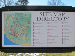 A detailed site map