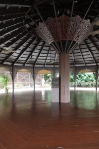 The lovely interior - Perhaps Sophie, a certified yoga instructor, will host a yoga retreat here one day.