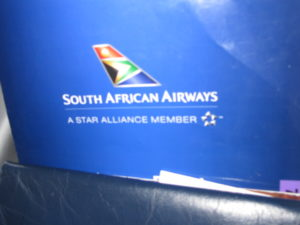 This is the South African Airways logo.