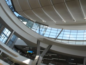 Johannesburg airport is a very big and modern terminal.  It's a 'hub' for travel around South Africa and elsewhere in that continent.