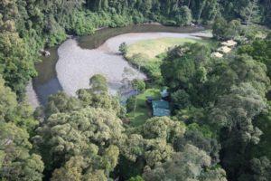 Our destination - the Borneo Rainforest Lodge