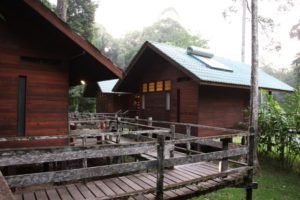 Some of the lodges - They can accommodate up to 60 people.