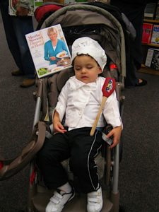 This aspiring chef is Alexander - age 2 1/2.
