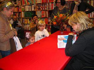 The children were so happy to meet me.