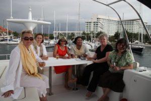 Memrie with Elise Adrianarivelo, Azlina Abd Aziz, Elisa Gagliardi, Lady Lynn Jones Parry, and Amy Hamidon