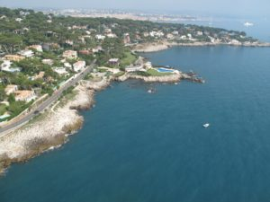 Antibes from the air