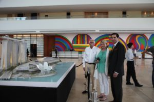 Moshe Safdie and I are joined by Thomas Arasi - President and Chief Executive Officer of the Marina Bay Sands building.