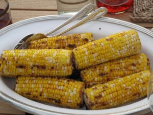 Yummy grilled corn