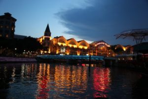 And this is Clark Quay.