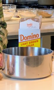 For as long as I can remember, I've always used Domino® Sugar. Domino's offers dark brown sugar, light brown sugar, confectioner's sugar, and granulated sugar. I am sure you've all used their sugar over the years.