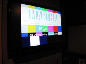 The color bars and show stamp - Look at that!  Season 5 - Show 1 - We're off and running!