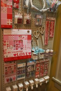 These items are all from the Martha Stewart Crafts Line, available at Michaels.  https://www.michaels.com  Obviously, this photo was taken around Valentine's Day.