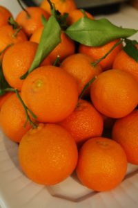 As do these tangerines.