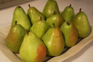 And these anjou pears