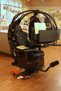 A most hi-tech chair - The Emperor 1510 - you'll learn all about it when this show airs on Feb 24th!