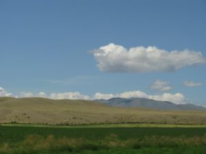 The big sky we all hear and dream about is present in Montana!