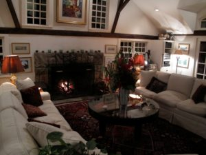 One of the beautiful and cozy rooms in Nine Gables