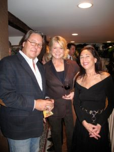 Ron Gushue - architect of Nine Gables, me, and my friend Laura Blau - another Co-Chair of the Acorn Award Reception