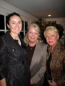 Leslie Henshaw - NPC Steering Committee member, Laurie Sturz, and Ingrid Connolly