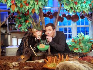 Jimmy Fallon and I really enjoyed slurping Eggs of Newt together!