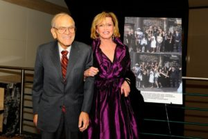 Judi and Joseph Flom, the co-chairs of the Sing for Hope Songs for Our Future 2009 Gala - Photo Credit Nan Melville
