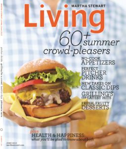The June issue of Martha Stewart Living, on stands May 17th, is full of terrific summer entertaining ideas, including the Vive La Tarte story.