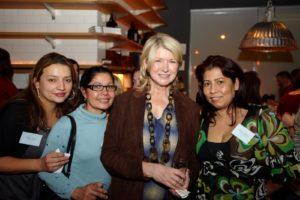 Here I am with  Aida, Ana, and Adrianna
