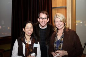 Lisa Wagner, Kevin Sharkey, and me