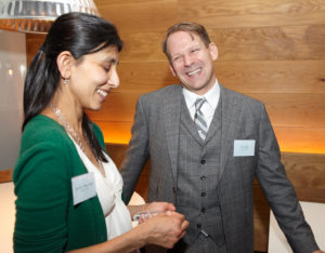 Aeysha Patel and Eric Pike
