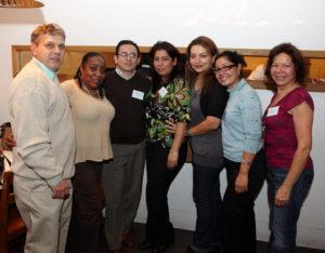 Fernando Ferarri, Geri Porter,  Martin Mendoza, Adrianna Weisberg, Claudia Salame, Ana Velasquez, Yolanda Florez