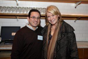 Martin Mendoza, and me
