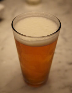 A refreshing cold beer