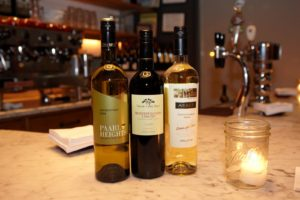A selection of very tasty wines